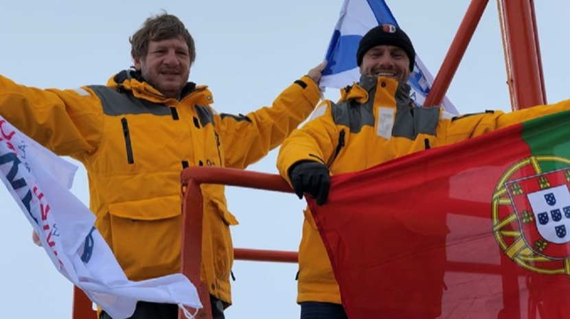 Portugueses retidos em expedição na Antártida
