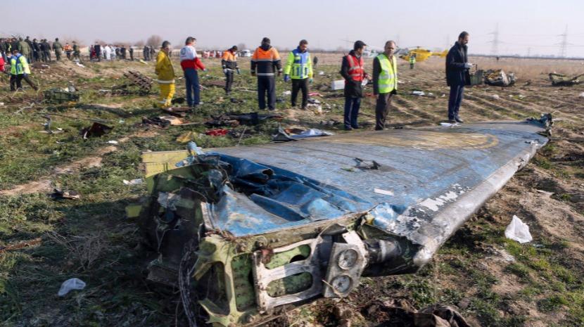 Teerão nega que avião tenha sido atingido por míssil