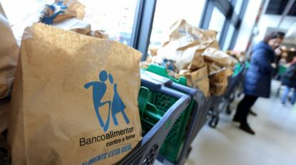 Banco alimentar recebeu cerca de 20 toneladas de excedentes alimentares