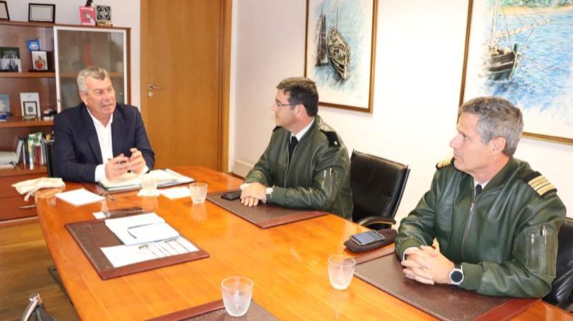 Idalino Vasconcelos recebeu comandante da Zona Militar da Madeira