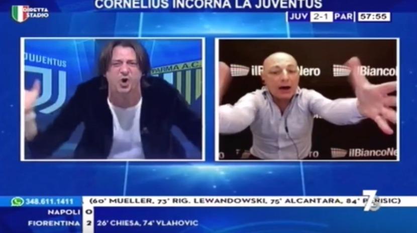 Relator italiano fica eufórico com bis de Ronaldo (vídeo)