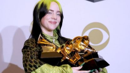 Aos 18 anos, Billie Eilish domina e vence as quatro principais categorias dos prémios Grammy