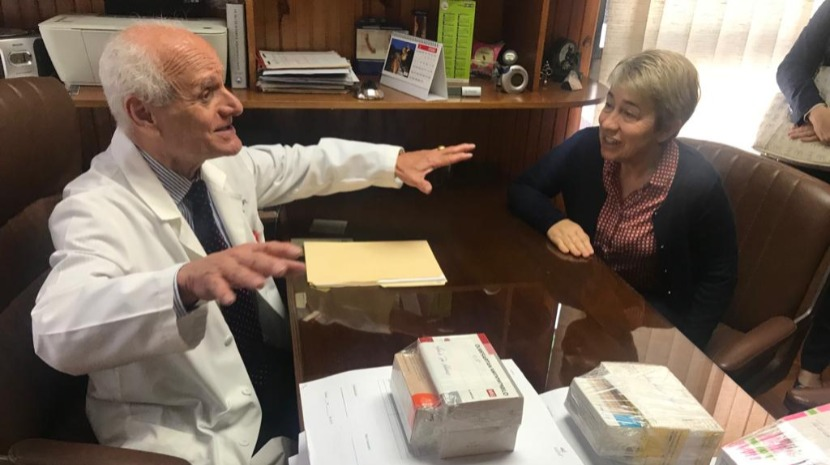 """Venezuela: Uma consulta médica paga com um """"saquinho de verdura"""""""