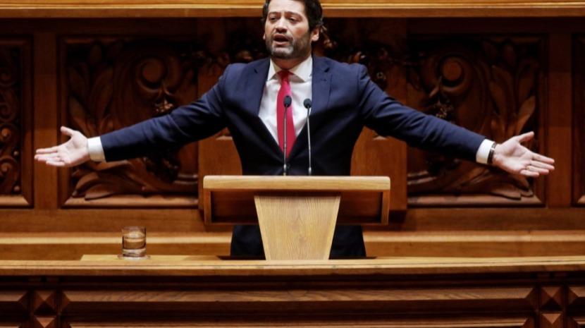 Resultado de imagem para PS avança com voto de condenação formal de André Ventura por xenofobia