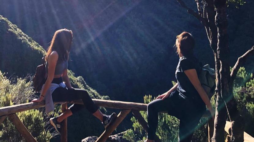 Sara Matos e Filipa Areosa aproveitam dias de sol na Madeira (com fotos)