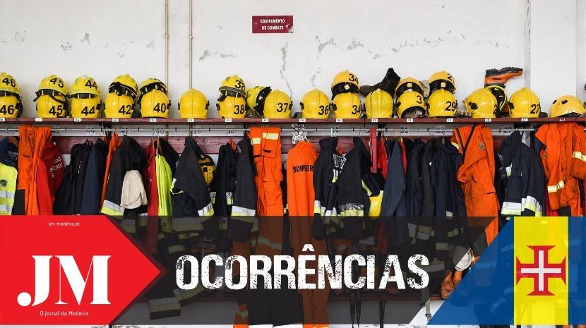 Fogo na Serra do Campanário mobilizou bombeiros
