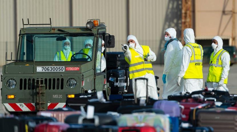 Vírus: Vinte repatriados por França apresentam sintomas de possível contágio