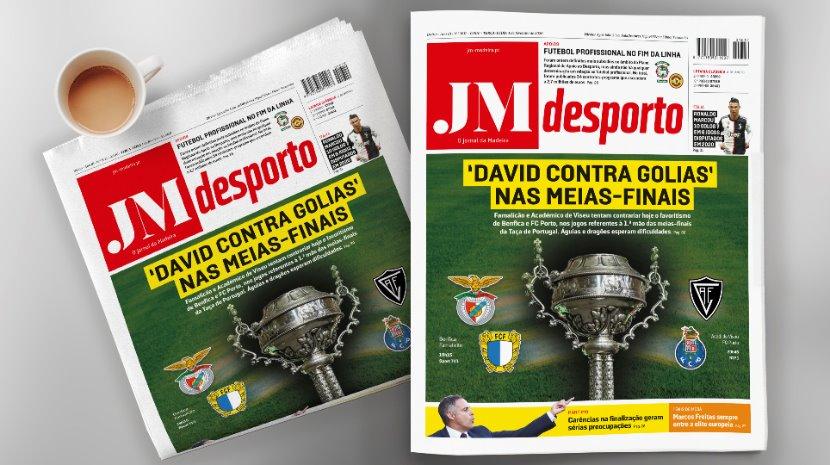 'David contra Golias' nas meias-finais da Taça de Portugal