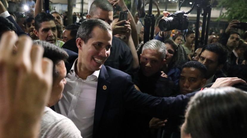 Venezuela: Guaidó reafirma que fará o necessário para derrubar a ditadura