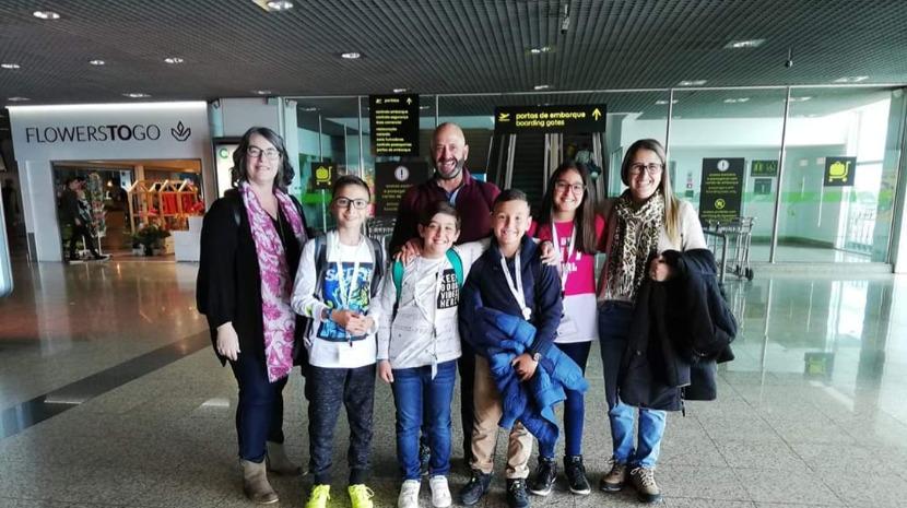 Escola Visconde Cacongo voa até a Alemanha para um encontro de Erasmus +