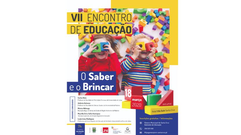 VII Encontro de Educação a 18 de março em Santa Cruz