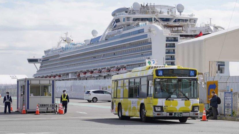 Coronavírus: Morreram dois passageiros do cruzeiro em quarentena no Japão