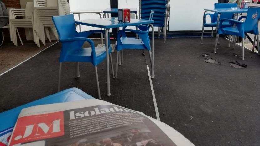 Covid-19: Café no Amparo não fecha mas toma medidas preventivas