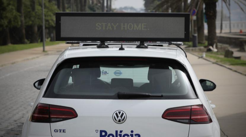 Estado de emergência: 64 pessoas detidas em Portugal por crime de desobediência