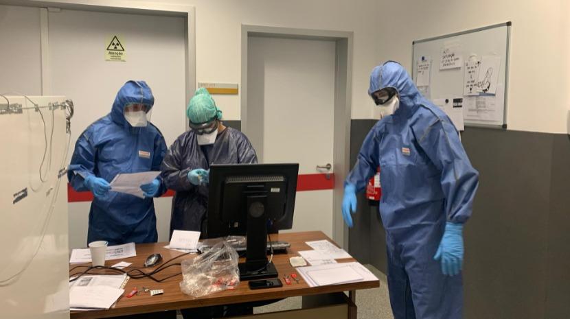 Veja como é estar na unidade que acolhe doentes com Covid-19 no Hospital do Funchal (com fotos)