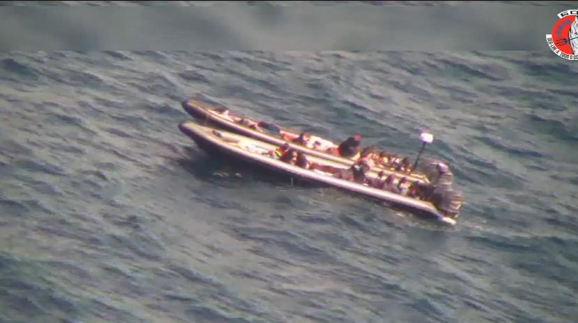 Força Aérea identifica embarcações de tráfico de droga e imigração ilegal no Mediterrâneo