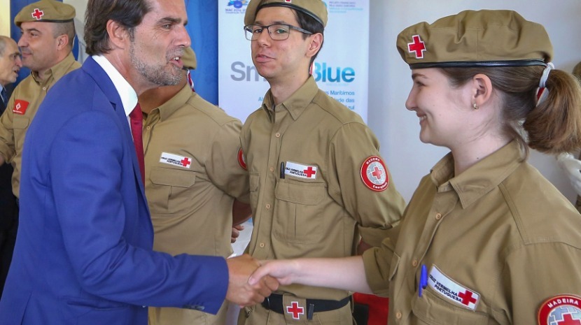 Albuquerque valoriza papel da Cruz Vermelha Portuguesa