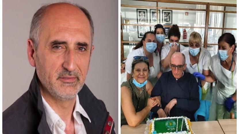 Muito debilitado e já sem poder  falar,  ator António Cordeiro celebra 61 anos