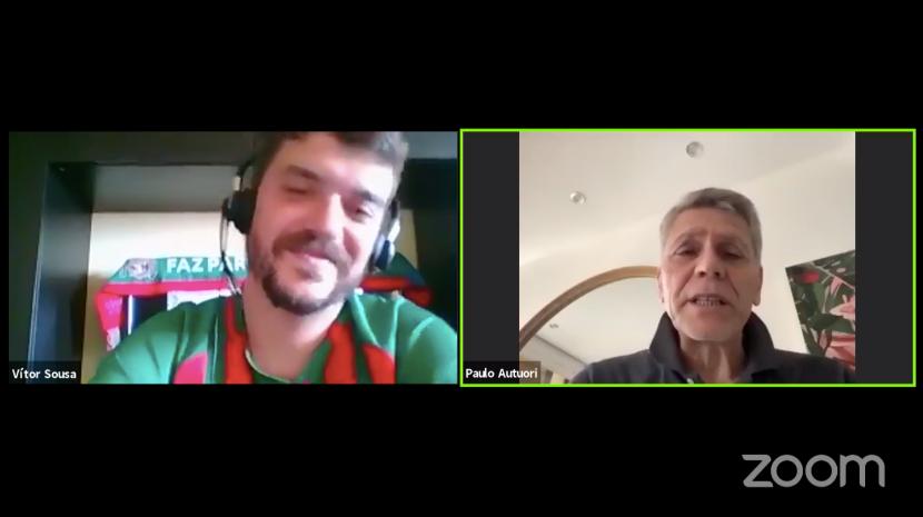 """""""Uma volta ao Caldeirão"""" conta com Paulo Autuori. Siga em direto"""