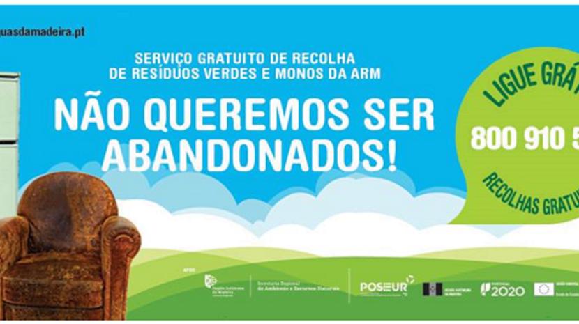 ARM retoma serviço de recolha de resíduos verdes e monos