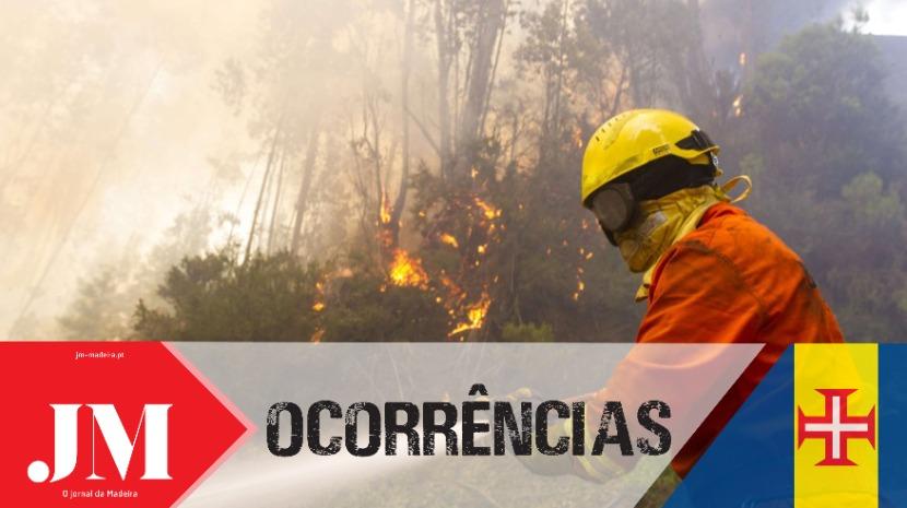 Quatro horas de combate às chamas de madrugada no Castelejo