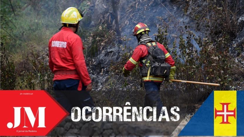 Reacendimento do incêndio na Eira do Serrado