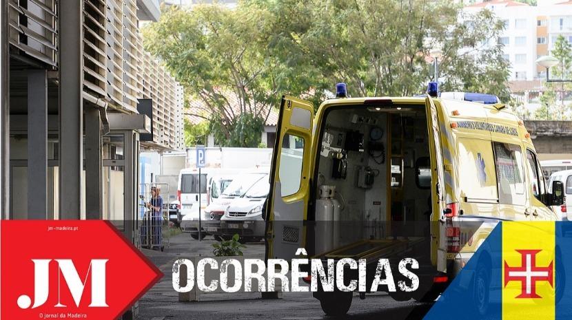 Três feridos após carro embater contra a parede no Funchal