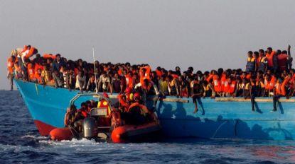 Mais 83 migrantes intercetados e detido pela guarda costeira líbia