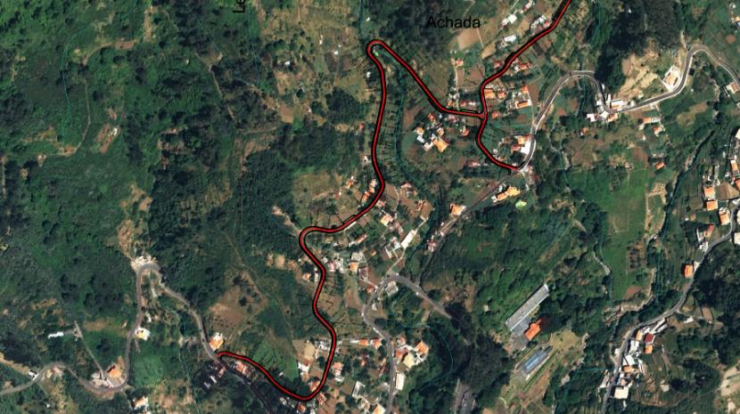 Obras do Caminho Agrícola Achada-Chote no Jardim da Serra já estão no terreno